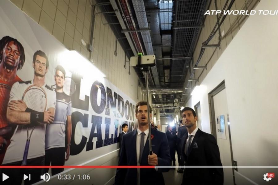 Finálová osmička tenistů na ATP Finals natočila Mannequin Challenge