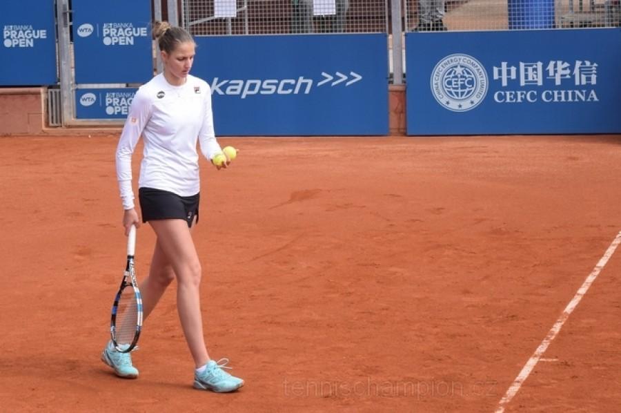 Karolína Plíšková a Kateřina Siniaková si zahrají o finále. Strýcová podlehla Davisové.