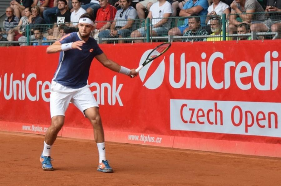 Veselý dohrávku ve Wimbledonu proti Berdychovi nezvládl