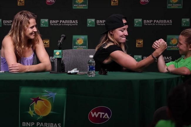 Děti si zahrály na reportéry! Vyzpovídaly Šafářovou s Mattekovou-Sandsovou.