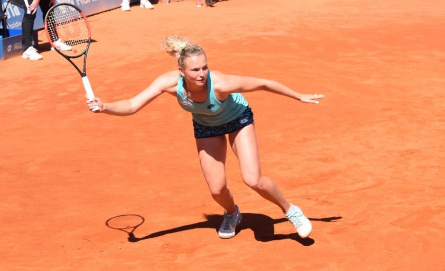 WTA Praha: Kateřina Siniaková první Češkou v osmifinále