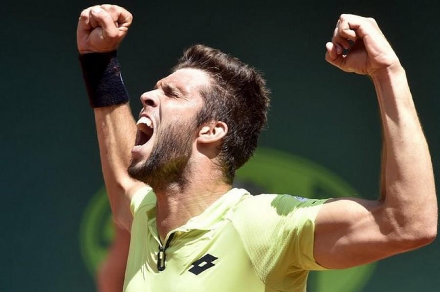 Veselý ve Wimbledonu řádí! Zdolal Fogniniho a vyzve Nadala